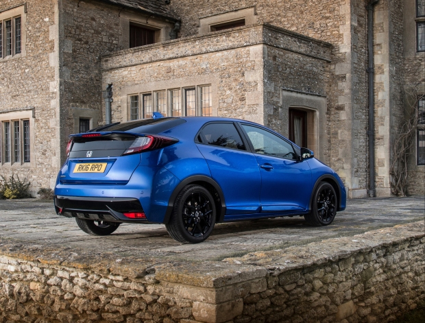 The Civic Sport looks like the Type-R but has a third of the power