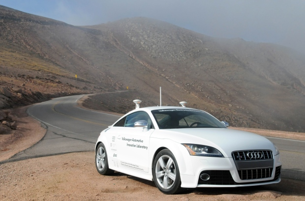 Audi has already proved with this driverless TT you can have zero effort and motoring fun in the same car