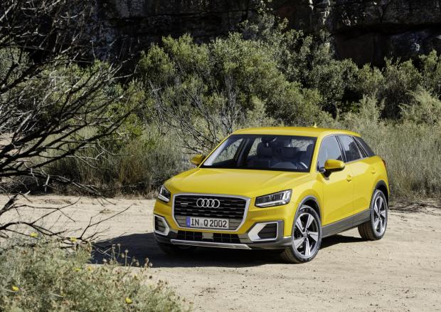 The new Audi Q2 arrives here in November