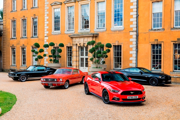 The new Mustang looks good - but the old one really turns heads