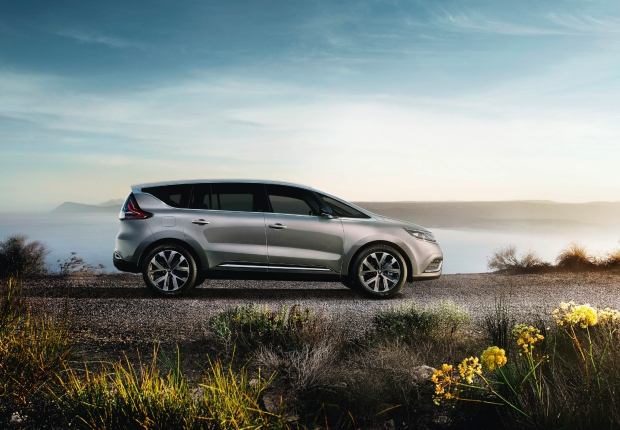 The current Renault Espace is far more exciting than its MPV rivals on sale here in the UK