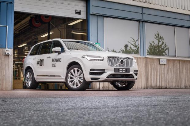 Even autonomous cars like this Volvo cannot completely eliminate accident risks