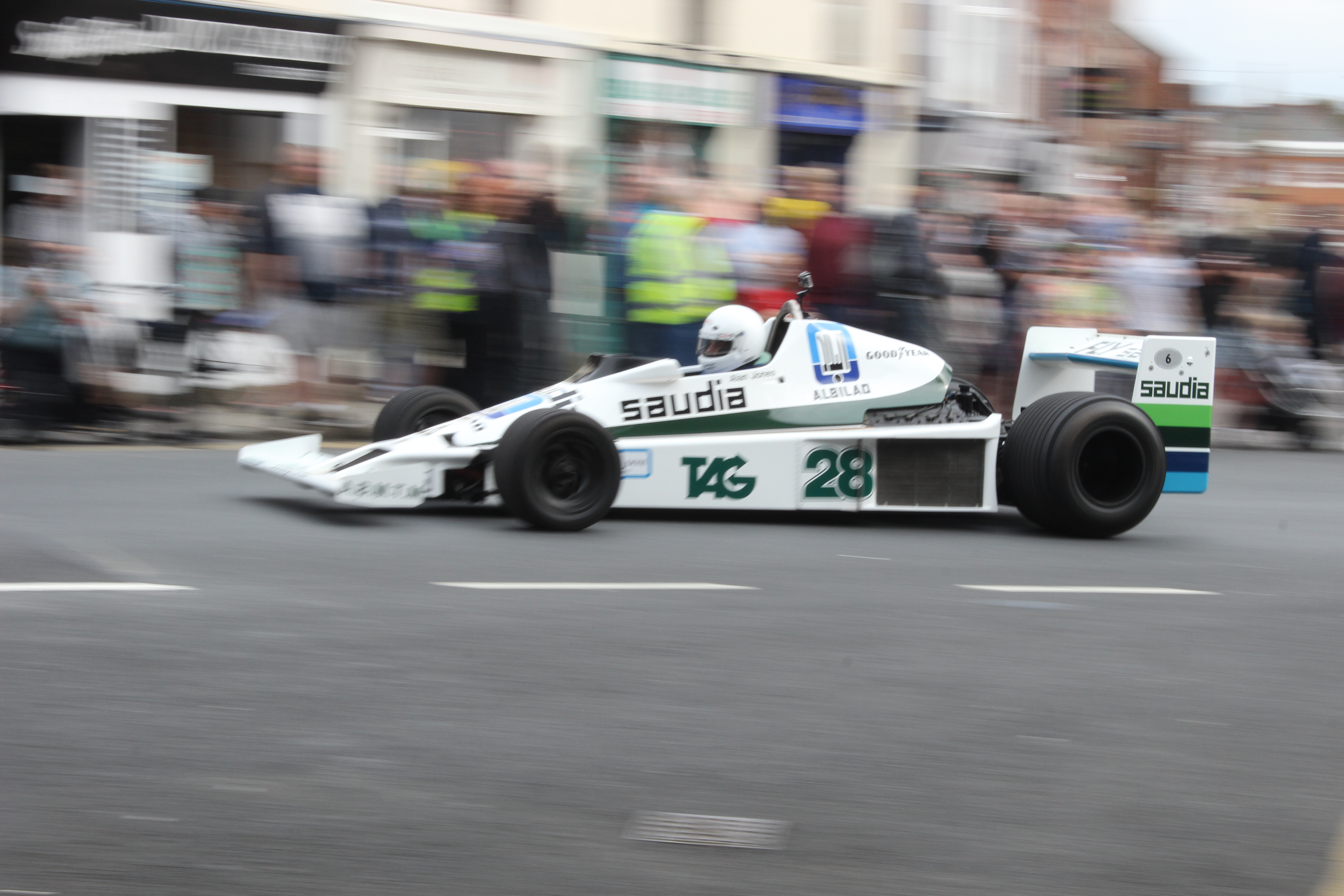 F1 cars have long been a big draw at the Ormskirk MotorFest