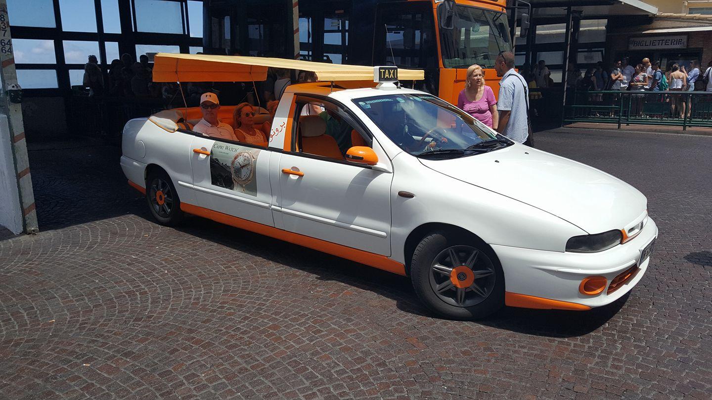 Fiat Marea taxi in Capri