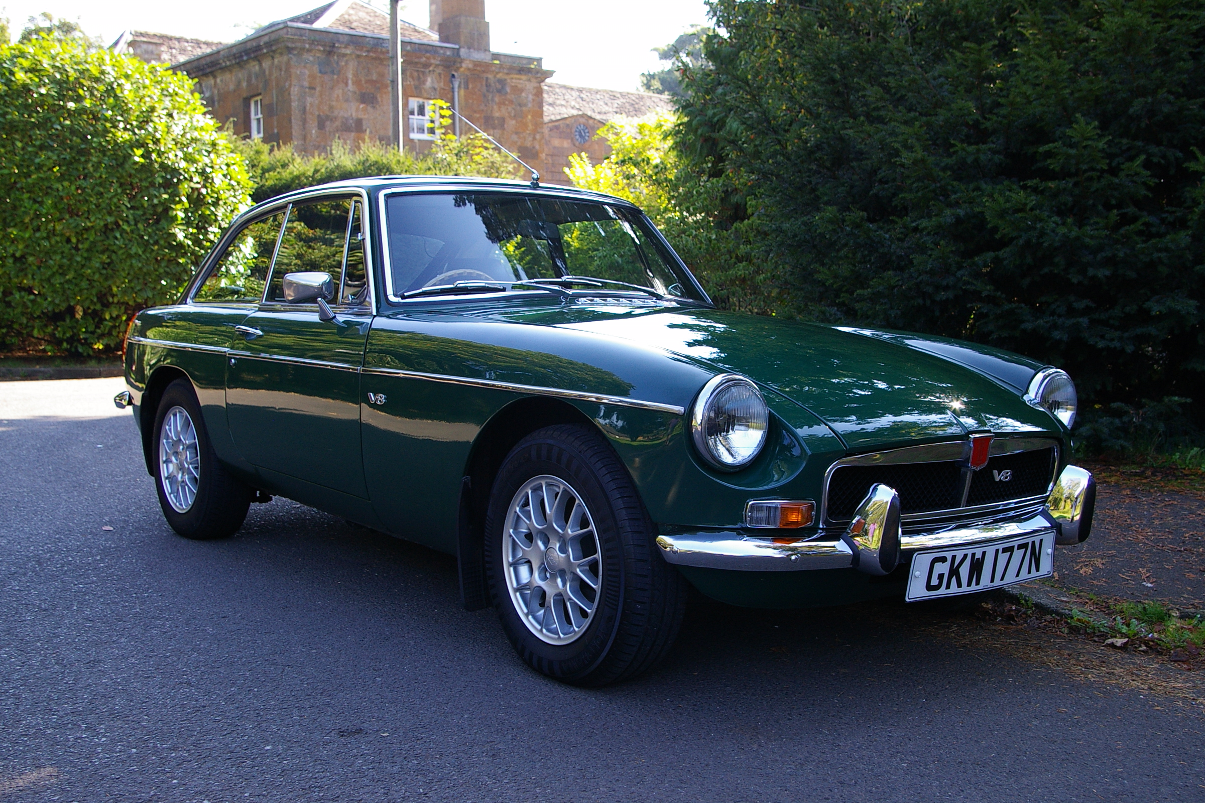 Classics like this MGB GT V8 will no longer need an MoT