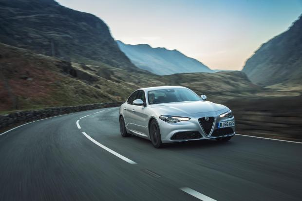 The Giulia is the first rear-wheel-drive Alfa Romeo saloon in 25 years