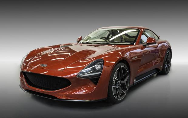 TVR chose to launch its new Griffith at the Goodwood Revival last weekend