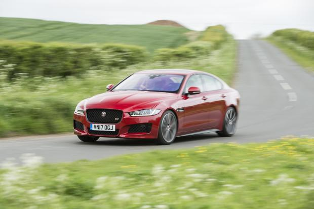 Currently the Jaguar Land Rover range starts with the XE saloon