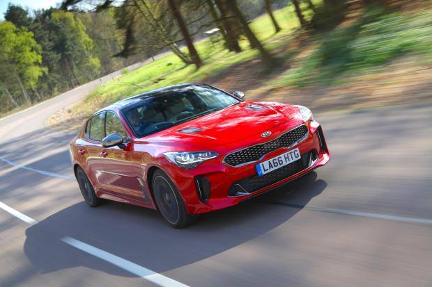 Kia has tough competition from the Germans for its new Stinger sports saloon