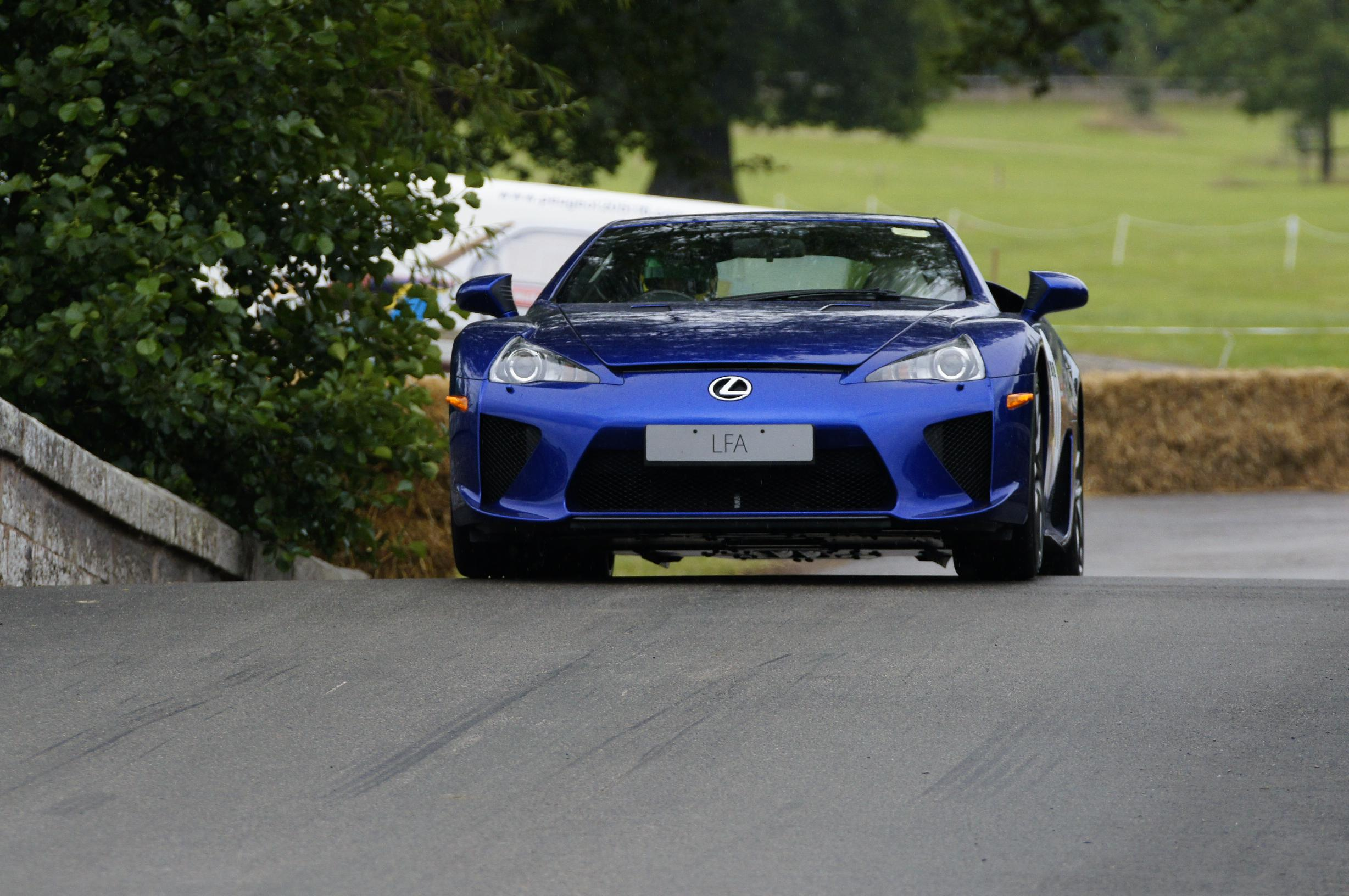 Cholmondeley has plenty of supercars - but not enough variety