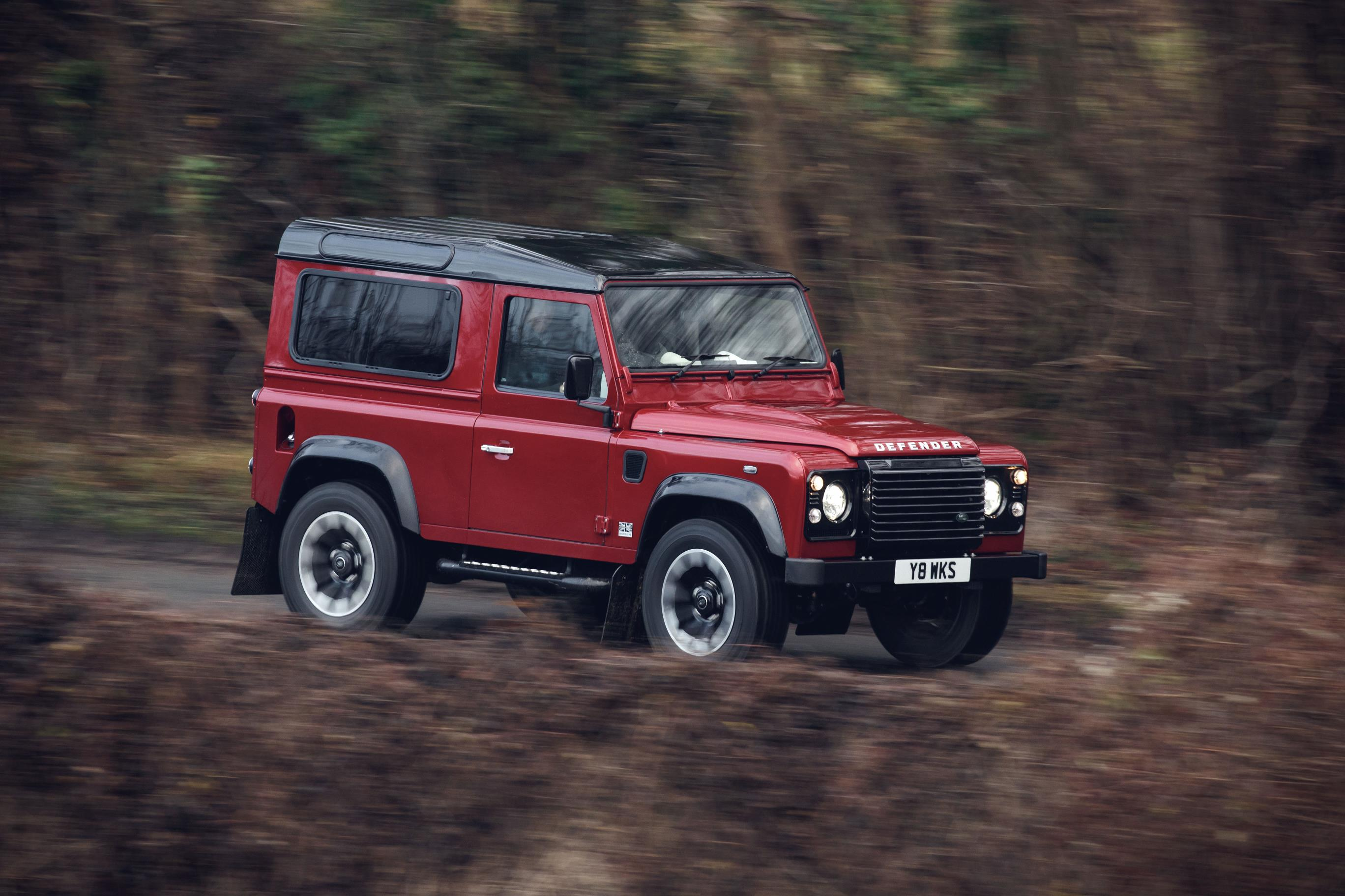 Land Rover is only making 150 of its Works V8 Defenders