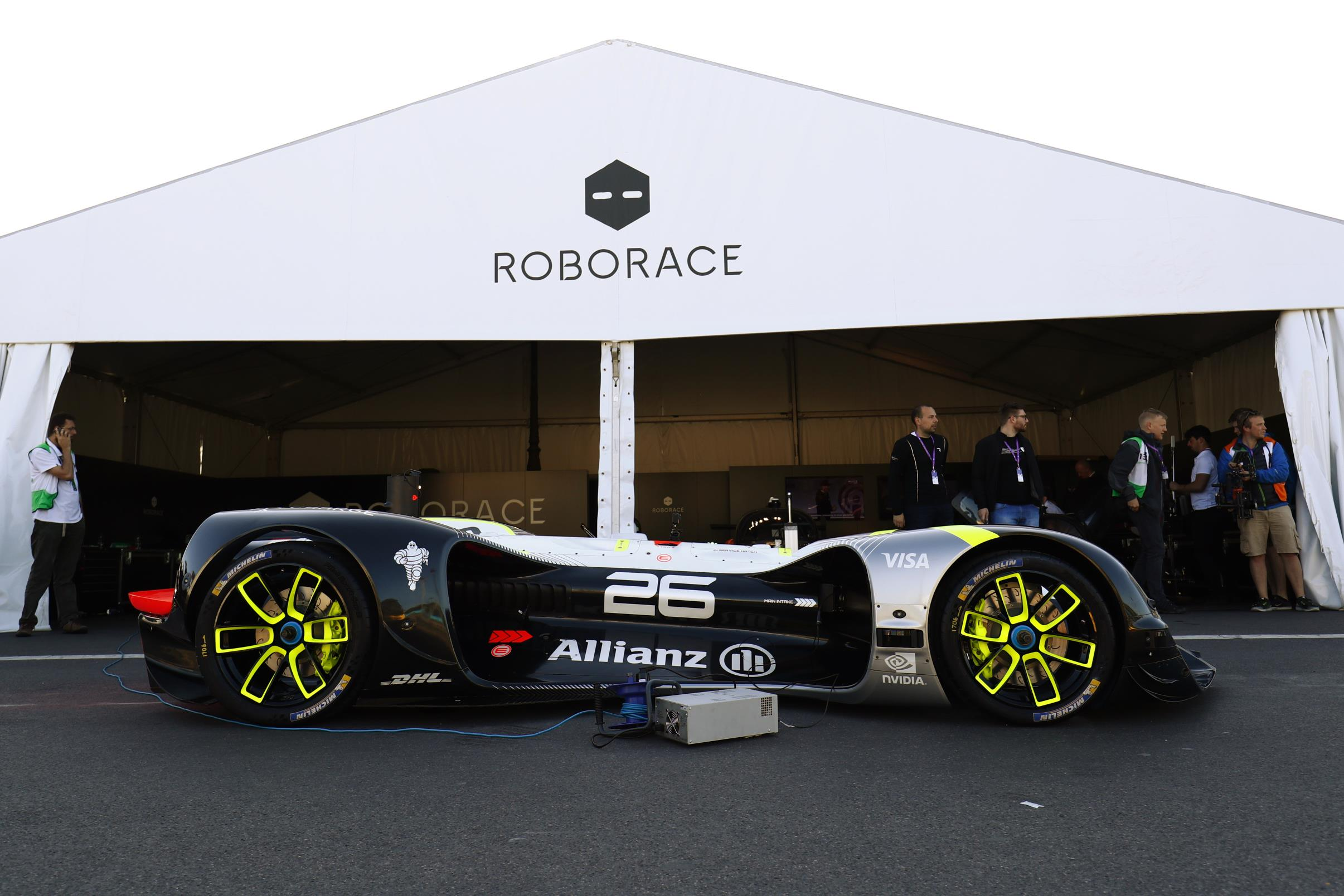 Roborace is a new series for autonomous racing cars - no drivers required!
