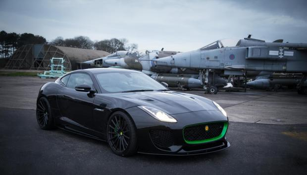 The Lister Thunder is essentially a heavily reworked Jaguar F-Type