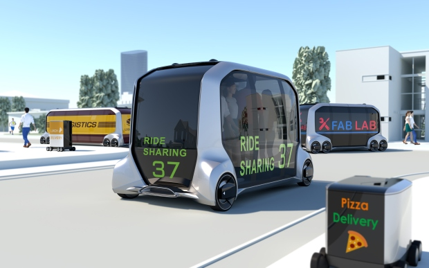 The Toyota e-Pallette is quite literally a box on wheels - and a possible vision of our motoring future