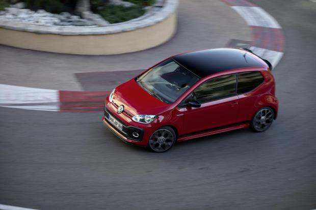 The Up GTI is the smallest hot hatch Volkswagen makes