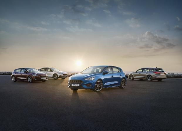 The new Ford Focus range is available to order now