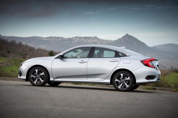 This new Honda Civic is just about the only small saloon you can buy new in the UK