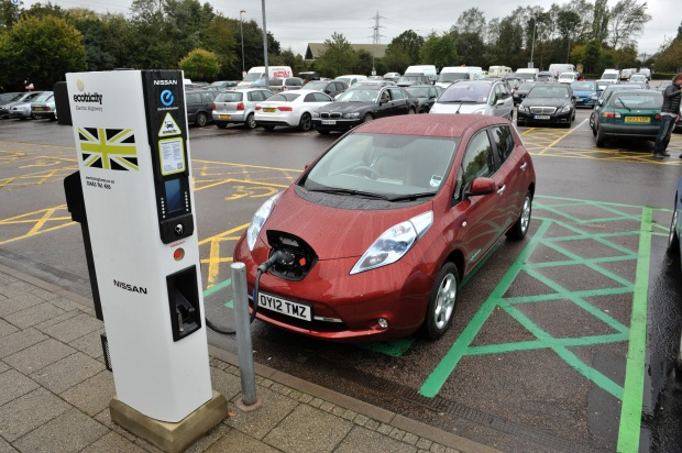 Motorway services are great for charging up electric cars, but they're hardly enticing destinations