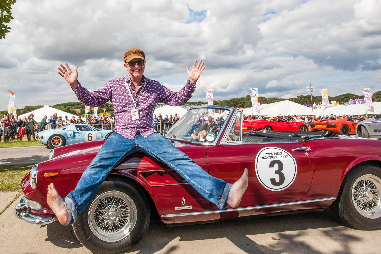Chris Evans fronted Top Gear for a single season but was already known for organising the CarFest shows 2.jpg