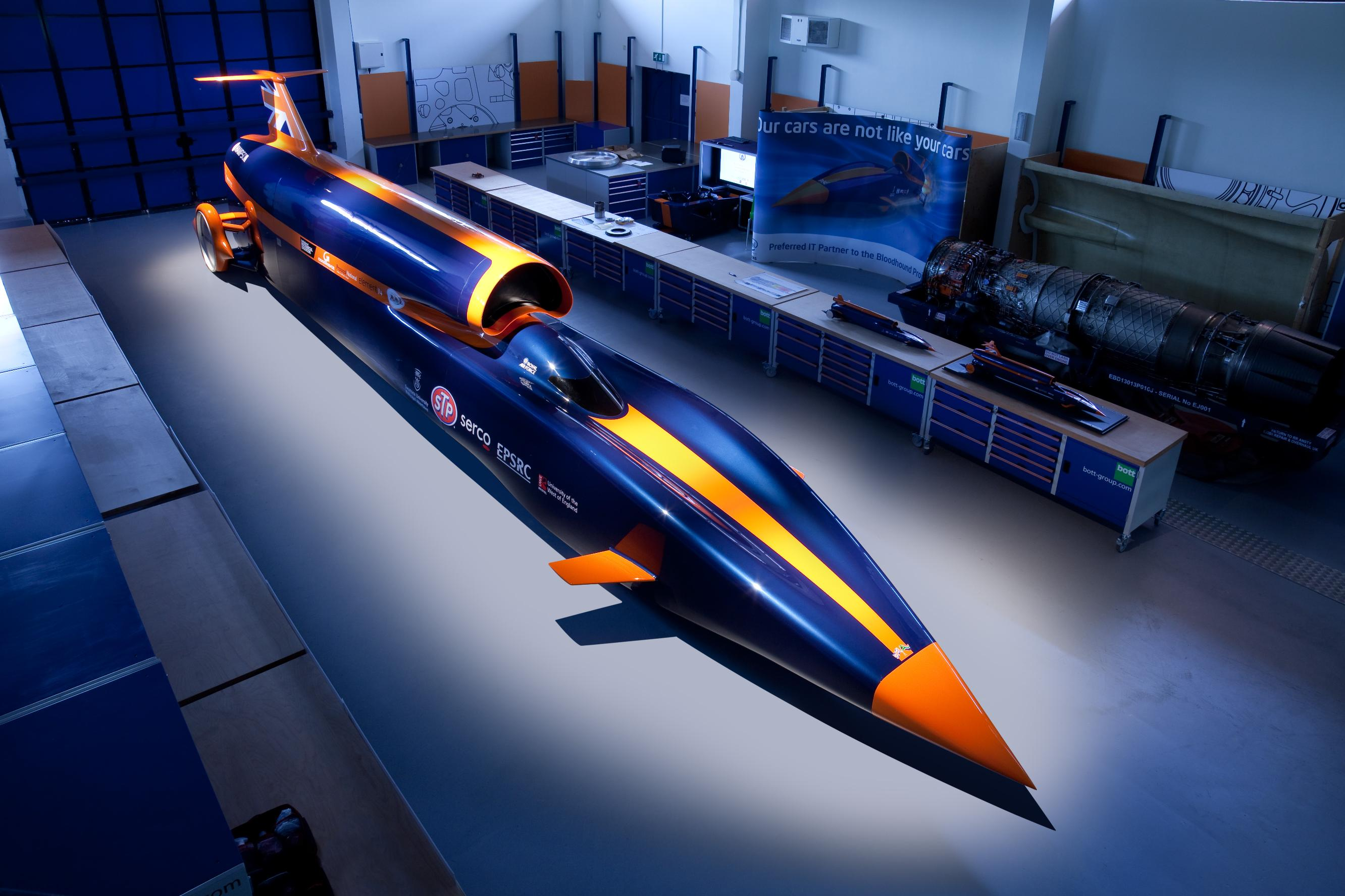 If successful Bloodhound SSC will be the first vehicle to be driven at more than 1000mph