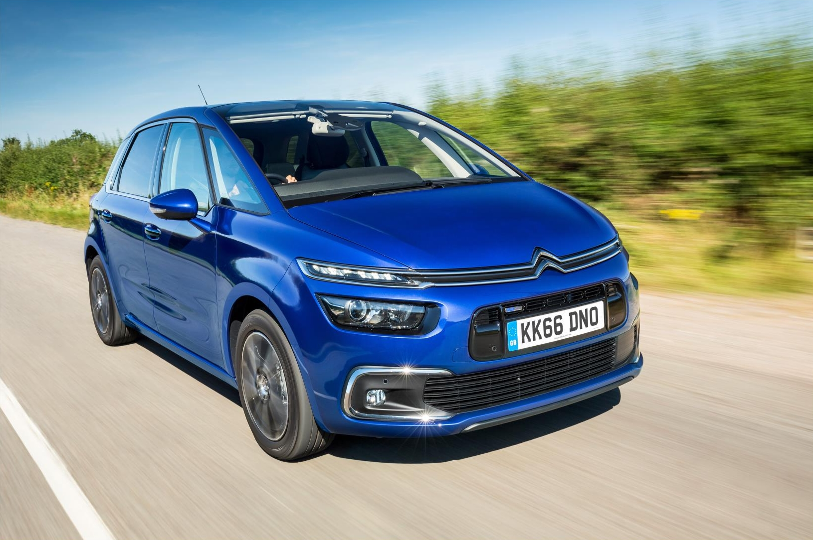 The C4 Picasso might not be the sharpest MPV through the bends, but David thinks it's all the better for it