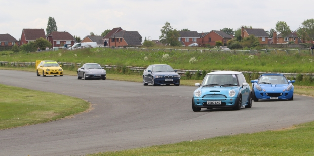 Whether your car is a MINI or a 911 - it can take part in events at Aintree circuit